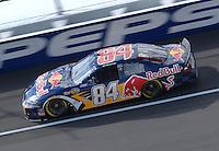 Apr 27, 2007; Talladega, AL, USA; Nascar Nextel Cup Series driver A.J. Allmendinger (84) during practice for the Aarons 499 at Talladega Superspeedway. Mandatory Credit: Mark J. Rebilas