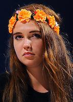 Josephine Witt Femen<br /> 02-09-2013: Genova Festa Nazionale Partito Democratico<br /> Democratic Party National Meeting <br /> Foto Genovafoto / Insidefoto