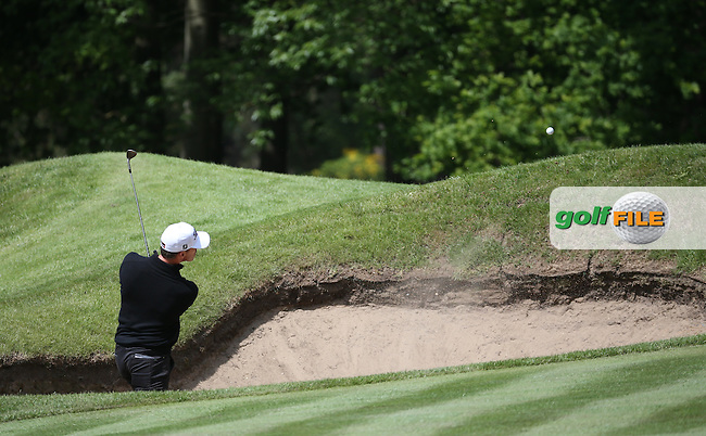 Soren Hansen (DEN) during Round One of the 2016 BMW PGA Championship over the West Course at Wentworth, Virginia Water, London. 26/05/2016. Picture: Golffile | David Lloyd. <br /> <br /> All photo usage must display a mandatory copyright credit to &copy; Golffile | David Lloyd.