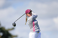 Olivia Kelly (England) during the second round of the Irish Womans Open Strokeplay Championship, Co Louth Golf Club, Baltray, Drogheda, Co Louth, Ireland. 12/05/2018.<br /> Picture: Golffile | Fran Caffrey<br /> <br /> <br /> All photo usage must carry mandatory copyright credit (&copy; Golffile | Fran Caffrey)