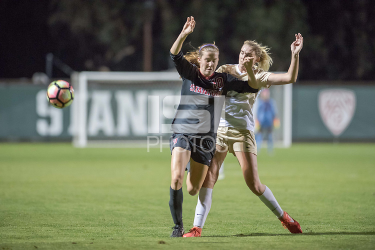 Stanford CA: Stanford Women's soccer host Colorado at Cagan Stadium.