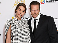07 February 2020 - Beverly Hills - Liz Godwin, Jason Lewis. 57th Annual ICG Publicists Awards Luncheon  held at Beverly Hilton Hotel. Photo Credit: Birdie Thompson/AdMedia