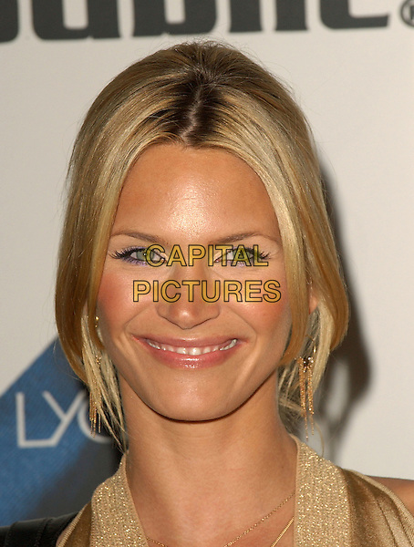 NATASHA HENSTRIDGE.Rock & Republic Spring 2006 Fashion Show held at Sony Studios, Stage 30, in Culver City, California  .October 19th, 2005.Ref: DVS.headshot portrait purple eyeline make-up make up.www.capitalpictures.com.sales@capitalpictures.com.Supplied By Capital PIctures