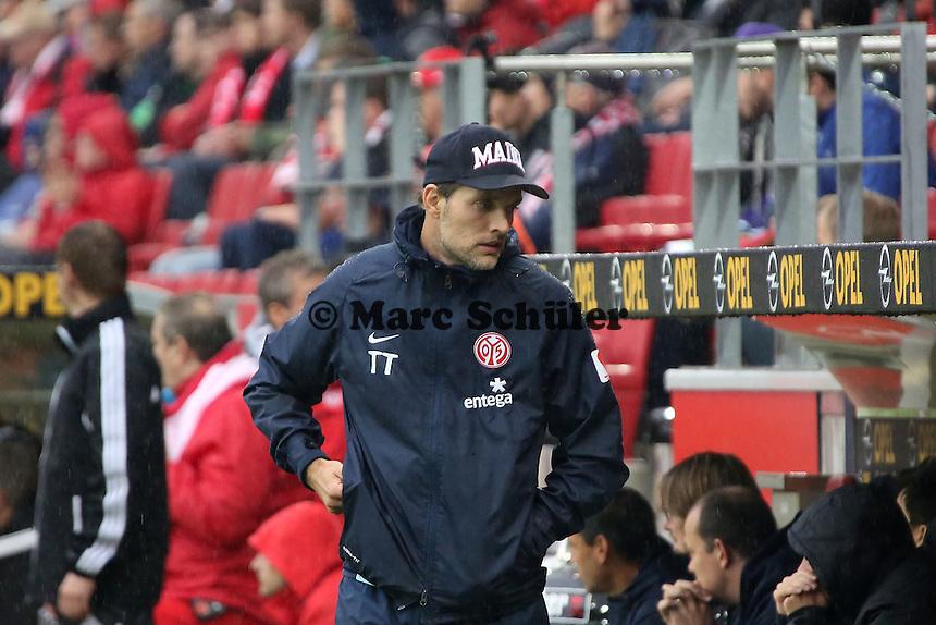 Trainer Thomas Tuchel (Mainz) - 1. FSV Mainz 05 vs. TSG 1899 Hoffenheim, Coface Arena, 8. Spieltag