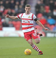 Doncaster Rovers' Harry Toffolo<br /> <br /> Photographer Mick Walker/CameraSport<br /> <br /> The EFL Sky Bet League One - Doncaster Rovers v Rotherham United - Saturday 11th November 2017 - Keepmoat Stadium - Doncaster<br /> <br /> World Copyright &copy; 2017 CameraSport. All rights reserved. 43 Linden Ave. Countesthorpe. Leicester. England. LE8 5PG - Tel: +44 (0) 116 277 4147 - admin@camerasport.com - www.camerasport.com