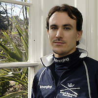PUTNEY, LONDON, ENGLAND, 06.03.2006, French oarsman Bastien Ripoll who was today named in the 2006 Varsity Boat Race crew at the 2006 Presidents Challenge and Boat Race Crew announcement at the winchester Club,  Putney.   © Peter Spurrier/Intersport-images.com.Bastien Ripoll, ..[Mandatory Credit Peter Spurrier/ Intersport Images] Varsity:Boat Race