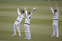 John Simpson of Middlesex CCC leads an appeal for LBW against Jones during Middlesex CCC vs Lancashire CCC, Specsavers County Championship Division 2 Cricket at Lord's Cricket Ground on 13th April 2019