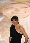 TENIS, BEOGRAD, 15. Oct. 2009. - Najbolja srpska teniserka Jelena Jankovic je u Beogradskoj areni prisustvovala finalu akcije kompanije Wrigley, u kojoj je oboren Ginisov rekord. U Areni je tom prilikom prikazan najveci mozaik na svetu, sastavljen od fotografija osmeha, u akciji ciji je zastitno lice bila Jelena Jankovic.  Foto: Nenad Negovanovic
