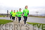Runners in the Tralee International Marathon Liam Horan, Emma Kinane Jim McNiece Grainne Power and Anne Kelliher.