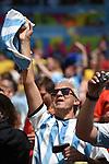 Argentina fans (ARG),<br /> JULY 5, 2014 - Football / Soccer :<br /> FIFA World Cup Brazil 2014 Quarter-finals match between Argentina 1-0 Belgium at Estadio Nacional in Brasilia, Brazil. (Photo by FAR EAST PRESS/AFLO)