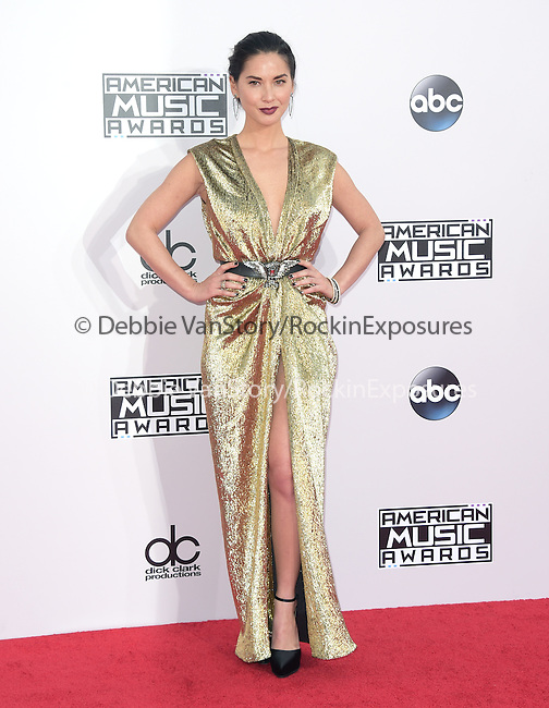 Olivia Munn at The 2014 American Music Award held at The Nokia Theatre L.A. Live in Los Angeles, California on November 23,2014                                                                               © 2014Hollywood Press Agency