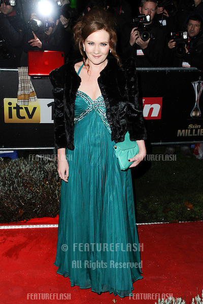 Jenny McAlpine arriving for The Sun Military Awards 2011 at the Imperial war Museum, London. 19/12/2011 Picture by: Steve Vas / Featureflash