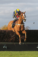 Kauto The Roc ridden by Robert Thornton in jumping action during the Tom Jones Memorial HTJ Centre Ltd