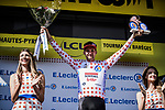 Tim Wellens (BEL) Lotto-Soudal retains the mountains Polka Dot Jersey at the end of Stage 14 of the 2019 Tour de France running 117.5km from Tarbes to Tourmalet Bareges, France. 20th July 2019.<br /> Picture: ASO/Pauline Ballet | Cyclefile<br /> All photos usage must carry mandatory copyright credit (© Cyclefile | ASO/Pauline Ballet)