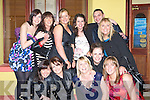 Helena Brosnan front row second from left celebrated her 27th birthday with her friends in the Crown Hotel Castleisland on Saturday night