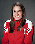 2010-11 UW Swimming and Diving Team - Emma Cabrera. (Photo by David Stluka)