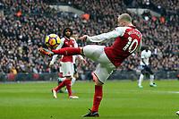 Jack Wilshere of Arsenal during Tottenham Hotspur vs Arsenal, Premier League Football at Wembley Stadium on 10th February 2018