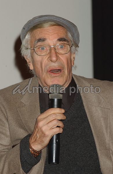 08 February 2005 - Los Angeles, California - Martin Landau. James Dean 50th Anniversary Year Global Media Event held at Pacific Theatre launching a year-long commemorative tribute to James Dean. Warner Home Video will debut a documentary 'James Dean: Forever Young'  at Cannes 2005. Photo Credit: Laura Farr/AdMedia