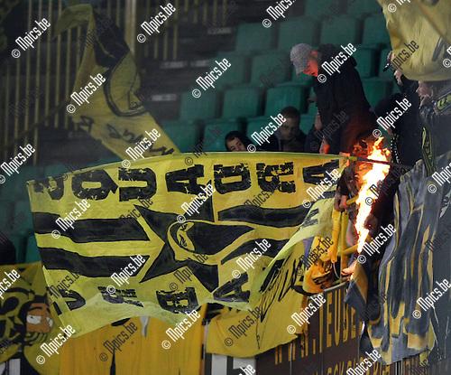 2008-10-02 / UEFA Cup / Club Brugge - BSC Young Boys / Fans Bern..Foto: Maarten Straetemans (SMB)