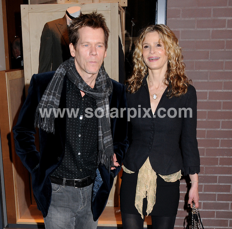 **ALL ROUND PICTURES FROM SOLARPIX.COM**.**SYNDICATION RIGHTS FOR UK, AUSTRALIA, DENMARK, PORTUGAL, S. AFRICA, SPAIN & DUBAI (U.A.E) ONLY**.Hermes Men's Store Opening on Madison Avenue in New York, New York City. USA. 9 February 2010..This pic: Kevin Bacon and Kyra Sedgwick..JOB REF: 10654 PHZ Mayer   DATE: 09_02_2010.**MUST CREDIT SOLARPIX.COM OR DOUBLE FEE WILL BE CHARGED**.**MUST NOTIFY SOLARPIX OF ONLINE USAGE**.**CALL US ON: +34 952 811 768 or LOW RATE FROM UK 0844 617 7637**