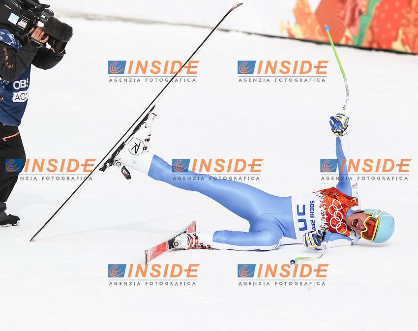 Christof Innerhofer (ITA) <br /> 09.02.2014, Rosa Khutor Alpine Resort, Krasnaya Polyana, RUSSIA, Sochi 2014 Olimpiadi Invernali. Olympic Winter Games <br /> Discesa Libera uomini<br /> Foto EXPA/ Stefan MatzkeInsidefoto