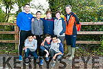 At the Kerry ETB orienteering event in Ballyseedy Wood on Tuesday were Jaden Efegbare, Anthony Murray, Erik Bunda Back l-r Padraig Horgan, Martin Halu, Adam Maher, PJ O'Sullivan and John Creagh from Coláiste Gleann Lí