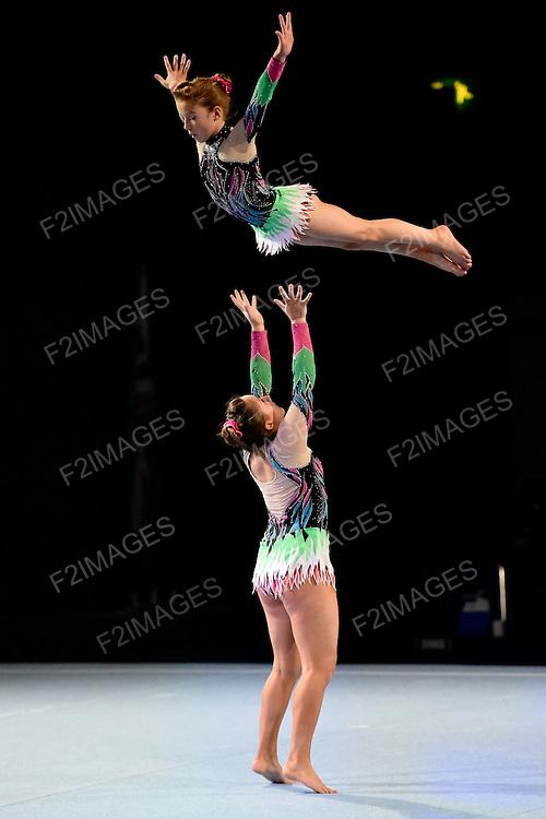 Pat Wade Classic 2014 Stoke. Sports Acrobatics.