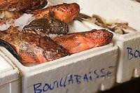 Europe/Provence-Alpes-Côte d'Azur/83/Saint-Tropez : Chapons de mer et Poissons de roche pour La Bouillabaisse