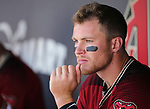 Images from a spring training game between the Arizona Diamondbacks and the Chicago Cubs in Scottsdale, Ariz., on Thursday, March 23, 2017.<br /> Photo by Cathleen Allison/Nevada Photo Source