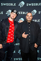 Stinje and Berner attend the Sweeble launch event at the TCL Chinese Theatre on June 11, 2015 (Photo by Eric Reid/Guest of a Guest)