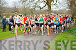 The runners take off at the 5km in Killarney on Saturday..