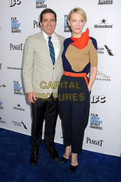 9 January 2016 - West Hollywood, California - Josh Welsh, Cate Blanchett. 2016 Film Independent Spirit Awards Nominee Brunch held at BOA Steakhouse.  <br /> CAP/ADM/BP<br /> &copy;BP/ADM/Capital Pictures