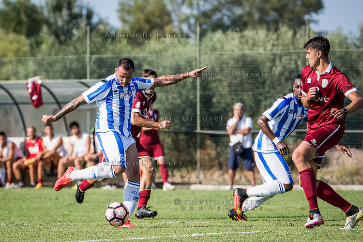 Simone Pepe (Pescara) during the Italian friendly football match San Nicolò vs Pescara (0-3) on September 01, 2016, in San Nicolò (TE), Italy. Photo by iSportFoto.it