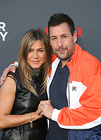 10 June 2019 - Westwood, California - Jennifer Aniston, Adam Sandler. The Los Angeles Premiere Screening of Murder Mystery  held at Regency Village Theatre. <br /> CAP/ADM/FS<br /> ©FS/ADM/Capital Pictures