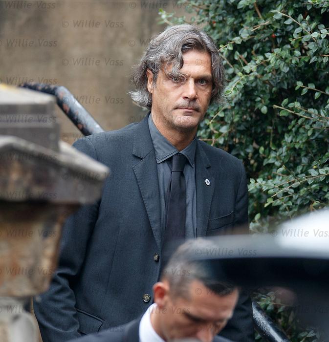 25.09.2018 Funeral service for Fernando Ricksen: Marco Negri