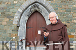 Fr Liam McCarthy who is now broadcasting mass from the Friary on Facebook