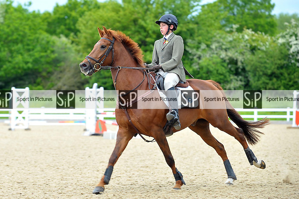 Class 7. 85cm Trailblazers. Unaffiliated Showjumping. Brook Farm Training Centre. Essex. 24/05/2015. MANDATORY Credit Ellie Ingram/Sportinpictures - NO UNAUTHORISED USE - 07837 394578