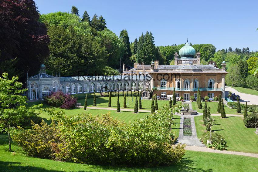 United Kingdom, England, Gloucestershire, Cotswolds, Sezincote: Sezincote House in moghul style   Grossbritannien, England, Gloucestershire, Cotswolds, Sezincote: Sezincote House