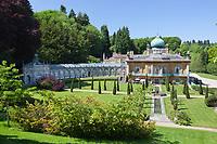 United Kingdom, England, Gloucestershire, Cotswolds, Sezincote: Sezincote House in moghul style | Grossbritannien, England, Gloucestershire, Cotswolds, Sezincote: Sezincote House
