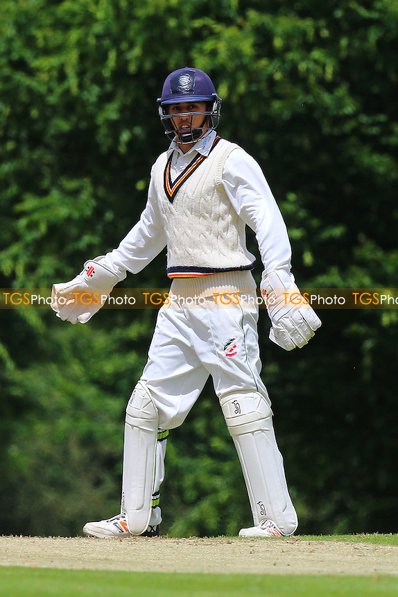 S Imtiaz of Ilford during Shenfield CC vs Ilford CC, Shepherd Neame Essex League Cricket at Chelmsford Road on 2nd July 2016
