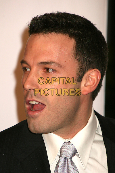 BEN AFFLECK.At The 12th Annual Broadcast Film Critics Choice Awards held at The Santa Monica Civic Auditorium in Santa Monica, California, LA, USA, January 12th 2007. .portrait headshot mouth open funny.CAP/ADM/BP.©Byron Purvis/AdMedia/Capital Pictures.