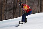 Daichi Oguri (JPN),  MARCH 12, 2018 - Snowboarding :  Men's Snowboard Cross Standing  at Jeongseon Alpine Centre  during the PyeongChang 2018 Paralympics Winter Games in Pyeongchang, South Korea.  (Photo by Sho Tamura/AFLO SPORT)