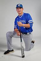 NWA Democrat-Gazette/DAVID GOTTSCHALK AN BBH-ROG SELDOMRIDGE — Hayden Seldomridge of Rogers High Newcomer of the Year Divison II Baseball photographed Thursday, May 24, 2018, in Springdale.