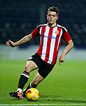 Tom Charlesworth of Sheffield Utd during the FA Youth Cup 3rd Round match at Deepdale Stadium, Preston. Picture date: November 30th, 2016. Pic Matt McNulty/Sportimage
