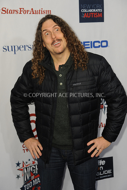 WWW.ACEPIXS.COM<br /> February 28, 2015 New York City<br /> <br /> Al Yankovic attending Comedy Central Night Of Too Many Stars at Beacon Theatre on February 28, 2015 in New York City.<br /> <br /> Please byline: Kristin Callahan/AcePictures<br /> <br /> ACEPIXS.COM<br /> <br /> Tel: (646) 769 0430<br /> e-mail: info@acepixs.com<br /> web: http://www.acepixs.com