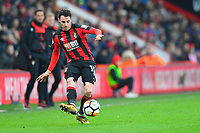 Adam Smith of AFC Bournemouth during AFC Bournemouth vs Wigan Athletic, Emirates FA Cup Football at the Vitality Stadium on 6th January 2018