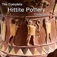 Pictures & Images of Hittite Pottery Artefacts & Relief Hittite Terra Cotta Antiquities -