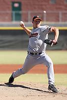 Andrew Reichard - San Franisco Giants 2009 Instructional League..Photo by:  Bill Mitchell/Four Seam Images..