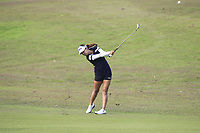 Jenny Shin (KOR) in action on the 1st during Round 3 of the HSBC Womens Champions 2018 at Sentosa Golf Club on the Saturday 3rd March 2018.<br /> Picture:  Thos Caffrey / www.golffile.ie<br /> <br /> All photo usage must carry mandatory copyright credit (&copy; Golffile | Thos Caffrey)