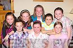 Dancing the night away at the Killarney Fleadh Cheoil childrens ceili? in Darby O'Gills Killarney on Friday night l-r: Shona Gleeson, Michelle O'Sullivan, Joan Brosnan. Back row: Lynn Brosnan, Kelly O'Sullivan, Siobhain Moynihan, Aoife O'Sullivan and Martina O'Connor